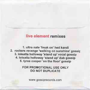 Live Element - Remixes