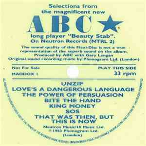ABC - Selections From The Magnificent New ABC Long Player