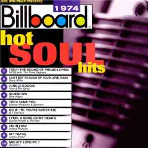 Various - Billboard Hot Soul Hits 1974