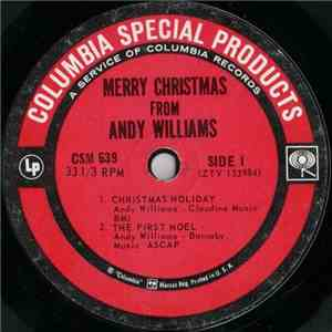 Andy Williams - Merry Christmas From Andy Williams