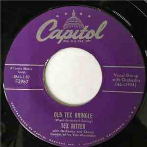 Tex Ritter - Old Tex Kringle / Is There A Santa Claus?